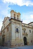 圣伯多禄受难者教会在卢塞纳,科多巴,西班牙省  免版税库存照片