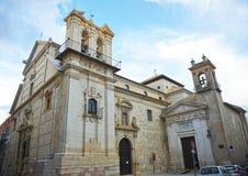 圣伯多禄受难者教会在卢塞纳,科多巴,西班牙省  图库摄影