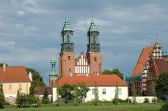 圣伯多禄和保罗大教堂在波兹南,波兰 免版税图库摄影