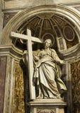 圣伯多禄大教堂的圣赫勒拿岛  库存图片
