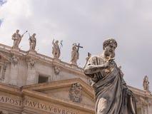 圣伯多禄大殿 库存照片