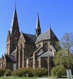 圣伯多禄教会在马尔摩 库存照片