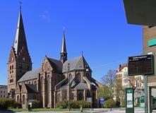 圣伯多禄教会在马尔摩 图库摄影