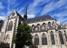 圣伯多禄教会在鲁汶 库存图片