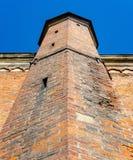 圣伯多禄教会的片段在里加 库存照片