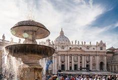 圣伯多禄梵蒂冈 免版税库存照片