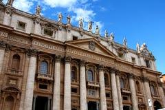 圣伯多禄的大教堂,罗马 免版税图库摄影