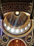 圣伯多禄的大教堂 库存图片