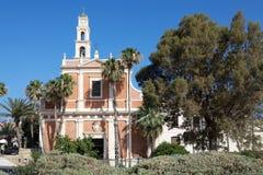 圣伯多禄的教会门面 免版税库存图片