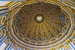 圣伯多禄,罗马,意大利 库存照片