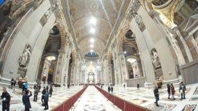 圣伯多禄` s大教堂,大厦,大教堂,教堂,旅游胜地 图库摄影