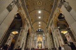 圣伯多禄` s大教堂,教堂,大厦,大教堂,大教堂 免版税库存照片