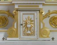 圣伯多禄` s天主教临时房屋 库存图片