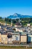 圣伯多禄` s Archabbey在萨尔茨堡,奥地利 库存图片