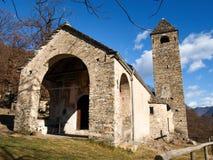 圣伯纳德教会  免版税库存照片