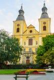 圣伯纳德Cistercian教会,埃格尔 库存图片