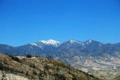 圣伯纳迪诺山脉场面 库存照片