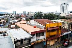 圣何塞哥斯达黎加市街道 图库摄影