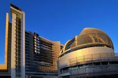 圣何塞香港大会堂,加利福尼亚 免版税库存照片