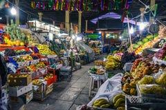 圣佩德罗火山市场/库斯科/秘鲁/07-14-2017 免版税库存照片