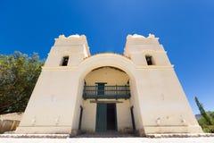 圣佩德罗火山教会在莫利诺斯,阿根廷 免版税库存图片