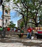 圣佩德罗苏拉 洪都拉斯 免版税库存图片