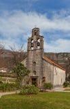 圣佩特卡(第17个c教会  ) 在布德瓦,黑山 免版税库存照片