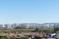 圣保罗和Guarulhos 免版税库存图片