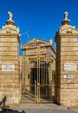 圣保罗地下墓穴 免版税库存图片