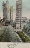 圣保罗大厦在纽约1905年 库存图片