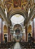 圣保罗大教堂在姆迪纳 马耳他 免版税库存照片
