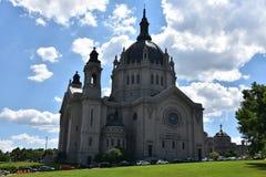 圣保罗大教堂在明尼苏达 免版税库存图片