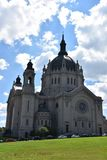 圣保罗大教堂在明尼苏达 免版税图库摄影