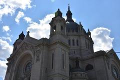 圣保罗大教堂在明尼苏达 库存图片