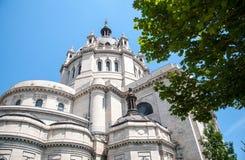 圣保罗大教堂的细节 库存照片