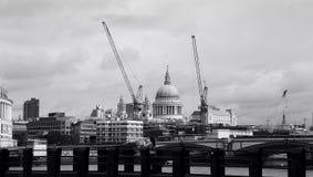 圣保罗大教堂,伦敦,英国 免版税库存图片