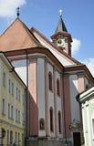 圣保罗教会在Passau 免版税库存照片