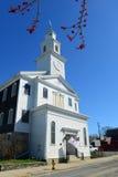 圣保罗的团结的卫理公会,纽波特,罗德岛州 库存图片
