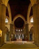 圣保罗的大教堂在墨尔本 库存图片