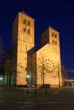 圣保罗的大教堂在芒斯特,德国 库存照片