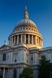 圣保罗的大教堂,伦敦。 免版税图库摄影