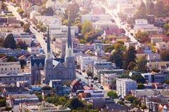 圣保罗的天主教在旧金山 免版税库存图片