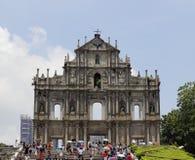 圣保罗的废墟  免版税库存照片