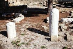 圣保罗的柱子 免版税库存照片
