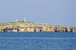 圣保罗的海岛,马耳他 图库摄影
