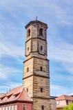 圣保罗的高耸在埃福特 库存照片