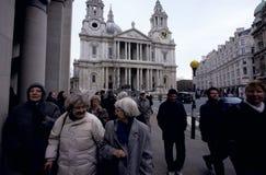 圣保罗的Catherdral,伦敦 免版税库存图片