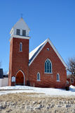 圣保罗英国国教的教堂 免版税库存照片
