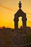 圣保罗路德教会的公墓Phillipsburg得克萨斯 免版税库存照片