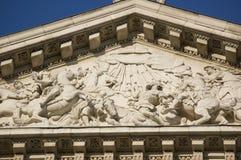 圣保罗雕塑转换  免版税库存图片